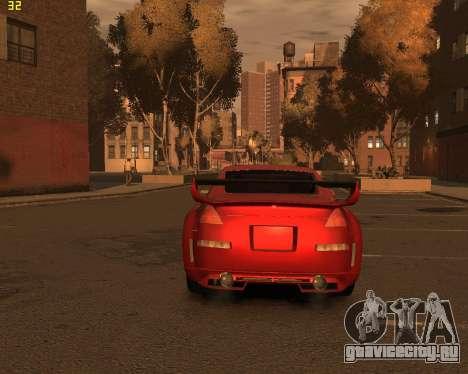 Nissan 350Z для GTA 4 вид слева