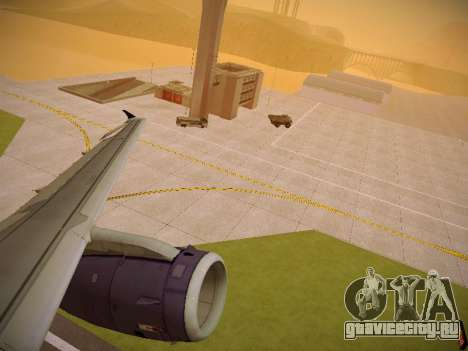 Airbus A321-232 Monarch Airlines для GTA San Andreas колёса