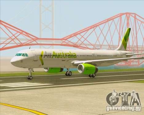 Airbus A321-200 Air Australia для GTA San Andreas вид слева