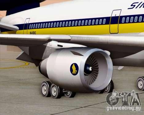 McDonnell Douglas DC-10-30 Singapore Airlines для GTA San Andreas