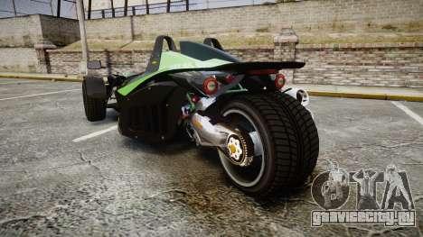 KTM Ducati для GTA 4 вид сзади слева