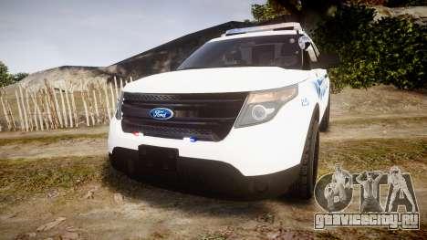 Ford Explorer 2013 PS Police [ELS] для GTA 4