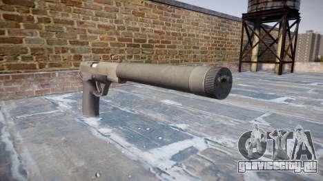 Пистолет QSZ-92 silencer для GTA 4