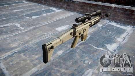 Винтовка Mk 17 SCAR-H для GTA 4 второй скриншот