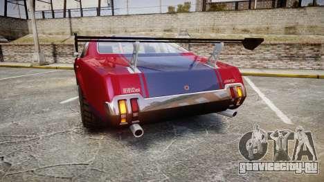 Declasse Sabre GT для GTA 4 вид сзади слева