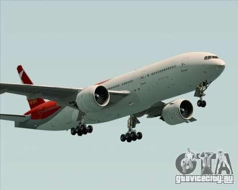 Boeing 777-21BER Nordwind Airlines для GTA San Andreas вид справа