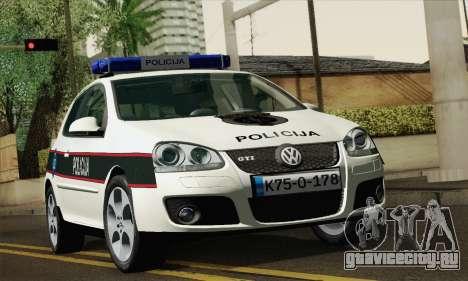 Volkswagen Golf V для GTA San Andreas