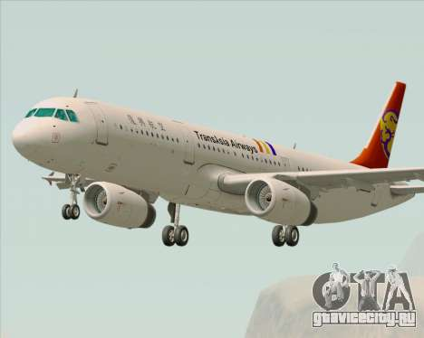 Airbus A321-200 TransAsia Airways для GTA San Andreas