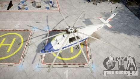 Ми-26 для GTA 4 вид справа