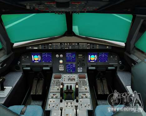 Airbus A321-200 Middle East Airlines (MEA) для GTA San Andreas салон