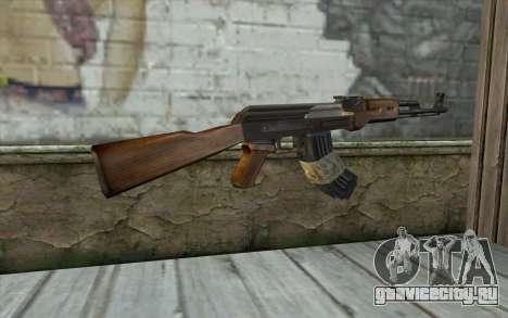 AK47 from Firearms v2 для GTA San Andreas второй скриншот