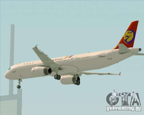 Airbus A321-200 TransAsia Airways для GTA San Andreas двигатель