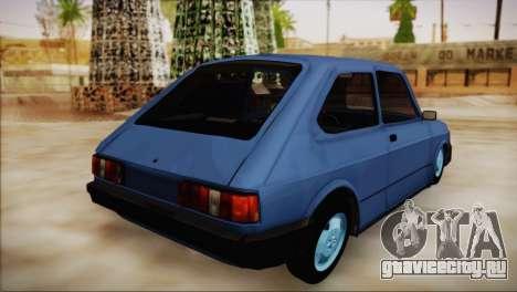 Fiat 147 для GTA San Andreas вид слева
