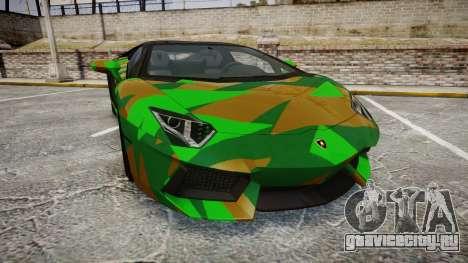 Lamborghini Aventador LP760-4 Camo Edition для GTA 4