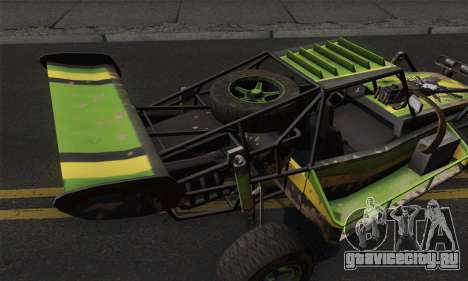 Devilbwoy Buggy для GTA San Andreas вид сзади слева