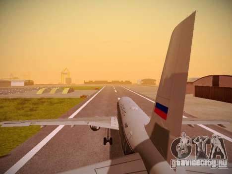 Airbus A320-214 Aeroflot Retrojet для GTA San Andreas