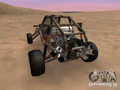 Обновлённый Bandito для GTA San Andreas для GTA San Andreas вид слева