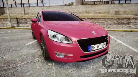Peugeot 508 v1.2 для GTA 4