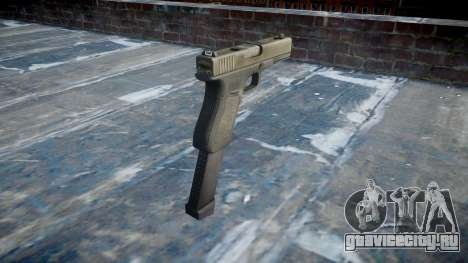 Пистолет Glock 18 для GTA 4 второй скриншот