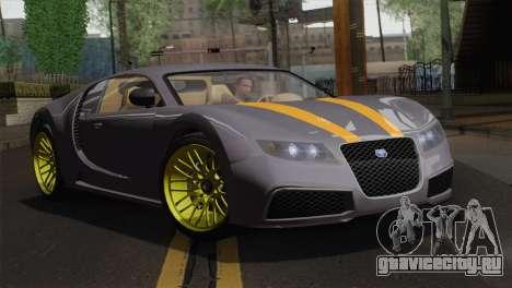 GTA 5 Adder (IVF) для GTA San Andreas