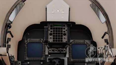 EMB AV-8 Harrier II USA NAVY для GTA San Andreas вид справа