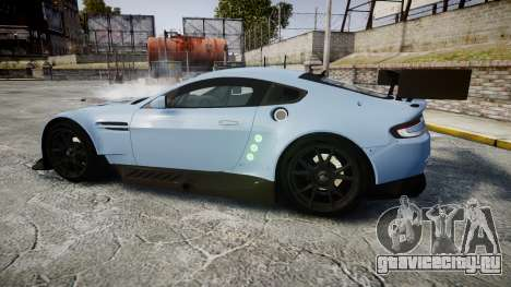 Aston Martin Vantage GTE [Updated] для GTA 4 вид слева
