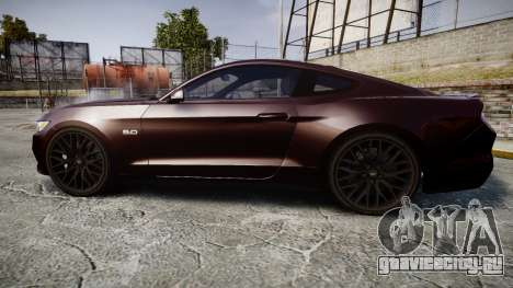 Ford Mustang GT для GTA 4 вид слева