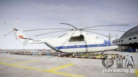 Ми-26 для GTA 4 вид слева