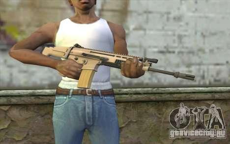 MK 16 SCAR для GTA San Andreas третий скриншот