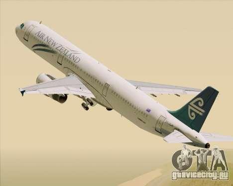 Airbus A321-200 Air New Zealand для GTA San Andreas