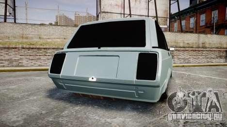 ВАЗ-2104 хулиганский азербайджанский стиль для GTA 4 вид сзади слева