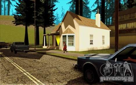 Новый дом CJ в Angel Pine для GTA San Andreas