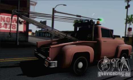 Towtruck GTA 5 для GTA San Andreas вид слева