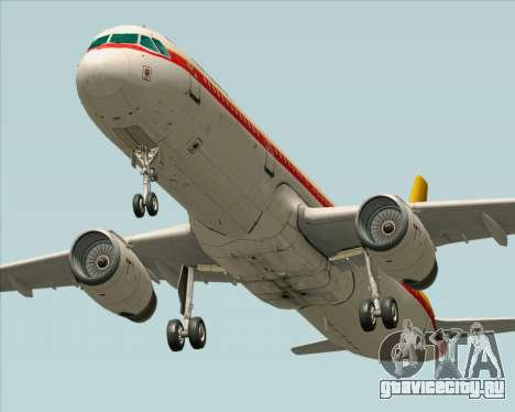 Airbus A321-200 Continental Airlines для GTA San Andreas
