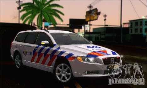 Volvo V70 LE Politie для GTA San Andreas