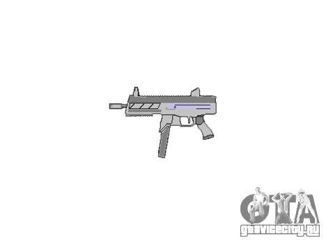Пистолет-пулемет SMT40 no butt icon3 для GTA 4 третий скриншот