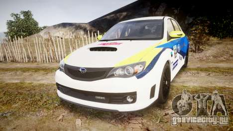 Subaru Impreza Cosworth STI CS400 2010 Custom для GTA 4