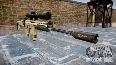 Винтовка Mk 17 SCAR-H для GTA 4