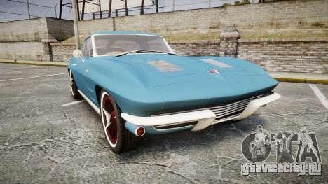 Chevrolet Corvette Stingray 1963 v2.0 для GTA 4