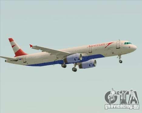 Airbus A321-200 Austrian Airlines для GTA San Andreas вид справа