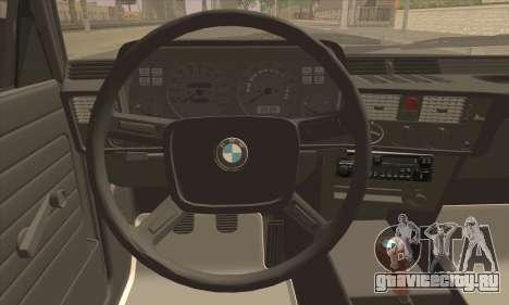 BMW 3 Series (E21) для GTA San Andreas вид сзади слева