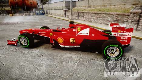 Ferrari F138 v2.0 [RIV] Alonso TIW для GTA 4 вид слева