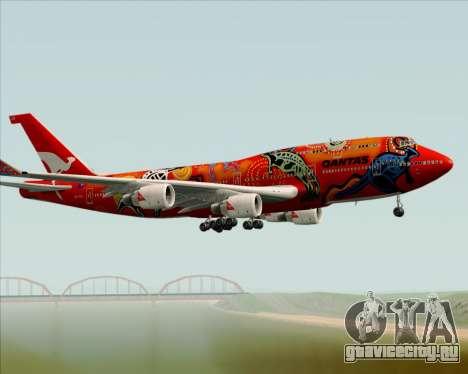 Boeing 747-400ER Qantas (Wunala Dreaming) для GTA San Andreas вид сбоку