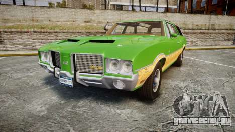 Oldsmobile Vista Cruiser 1972 Rims2 Tree6 для GTA 4