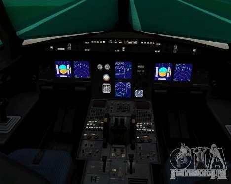 Airbus A321-200 Thomas Cook Airlines для GTA San Andreas салон