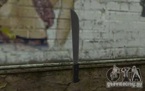 Мачете (DayZ Standalone) v2 для GTA San Andreas второй скриншот