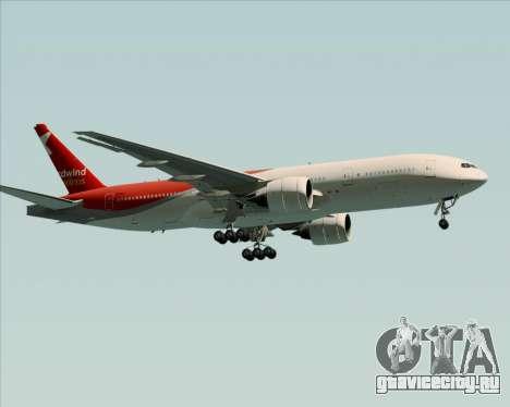 Boeing 777-21BER Nordwind Airlines для GTA San Andreas вид сзади