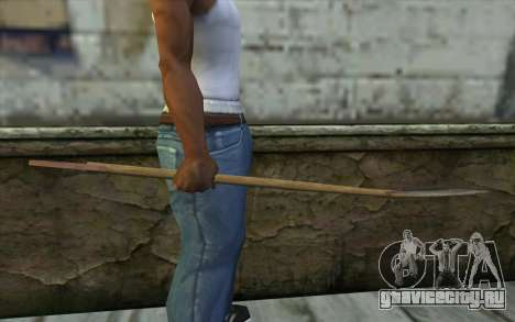 Shovel from Beta Version для GTA San Andreas третий скриншот