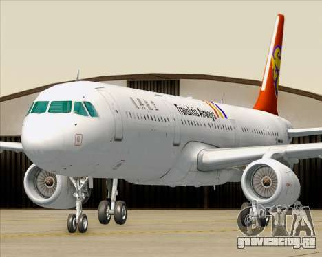 Airbus A321-200 TransAsia Airways для GTA San Andreas колёса