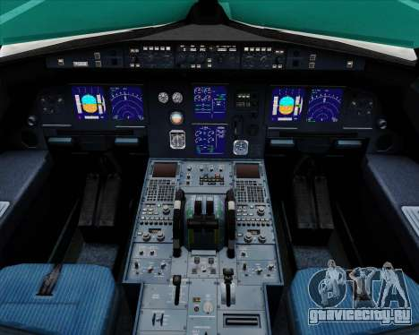 Airbus A321-200 Air Australia для GTA San Andreas салон